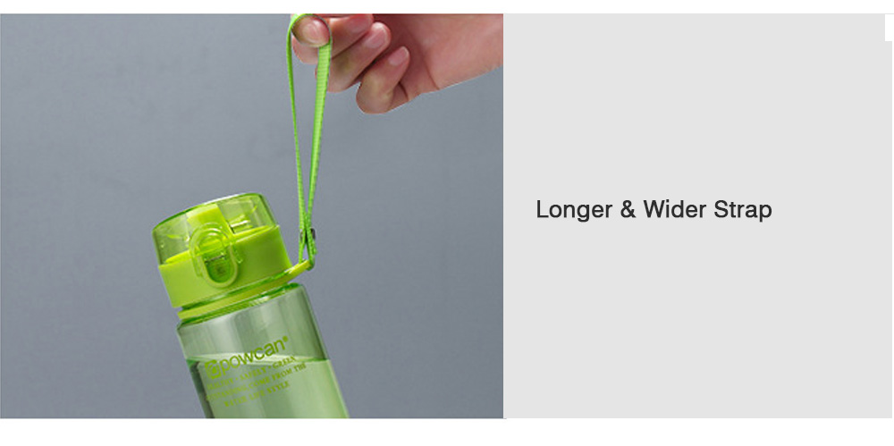 Portable Plastic Space Bottle of Sports Style for Summer, Creative Powcan Cup Children Cup for Students' Use PC Cups 12