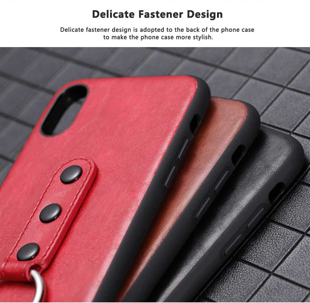 Luxury Soft PU Leather Phone Case for iPhone X/XS/XR 2