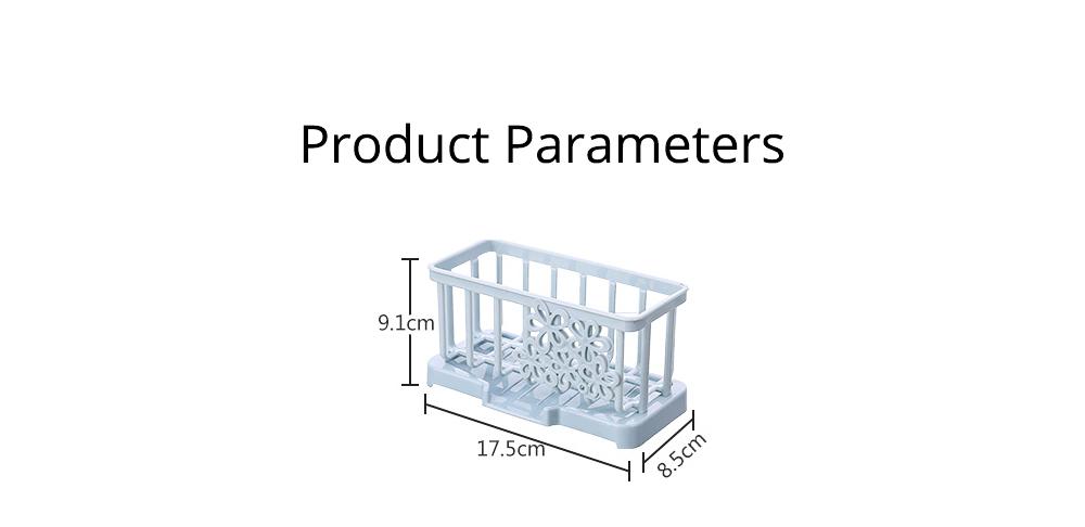 Storage Holder Durable Organizer Shelf for Kitchen Household Plastic Detachable Drying Rack 9