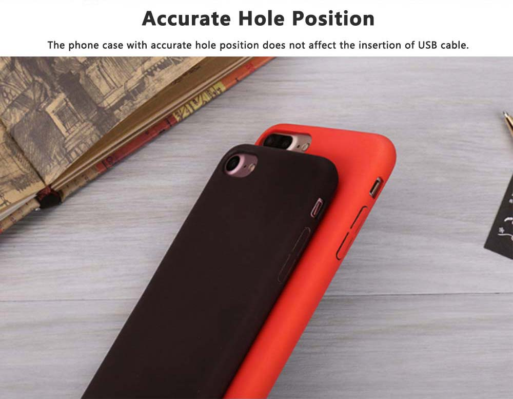 Creative Thermal Sensor Phone Case for iPhone, Minimalist Heat Induction Phone Cover, Luxury Soft PU Phone Case Back Cover 3