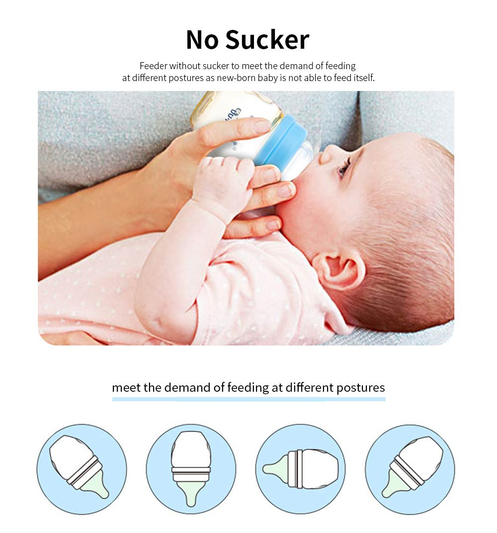 Feeder for New-born Baby PPSU Nurser Wide Mouth Feeding Bottle 100ml Little Capacity Nursing Bottle 2