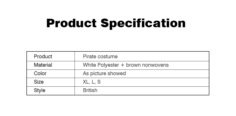 Pirate Costume for Dogs, Halloween Days Dog Clothes Pet Costumes  9