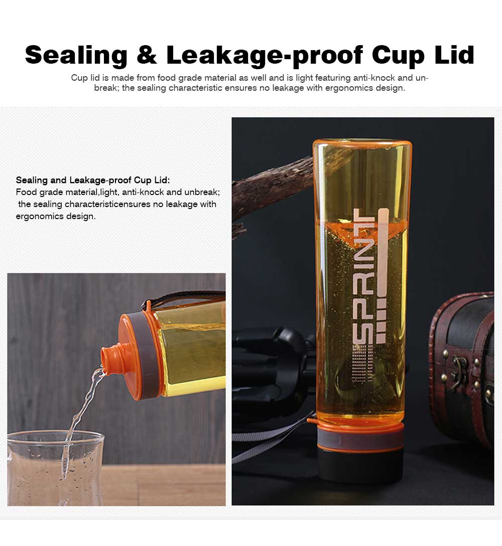 Portable Space Cup with Big Capacity for Students, 1000ml Sports Water Bottle for Outdoor Activities PC Cups 7