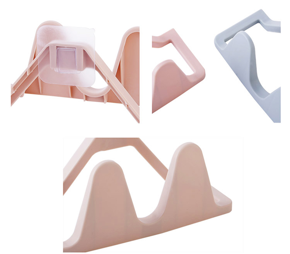 Shoes Rack Plastic Hanger Wall-mounted for Household Creative Shoes Holder 2