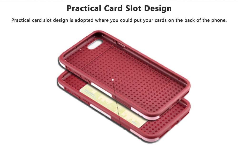 Tricolor Anti-breaking Phone Case, Luxury Soft TPU Phone Cover Case for iPhone, Samsung Case Cover with Creative Humanized Design 4