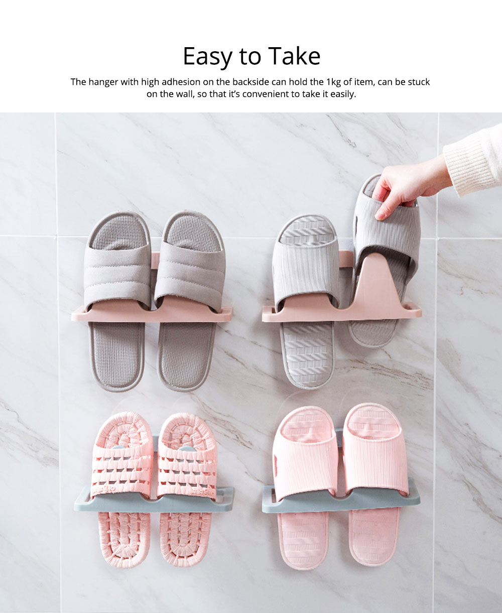 Shoes Rack Plastic Hanger Wall-mounted for Household Creative Shoes Holder 9