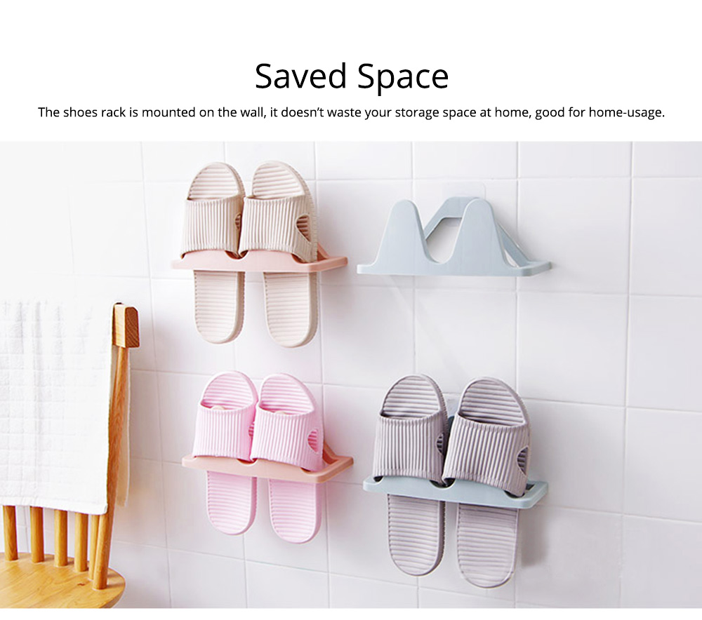 Shoes Rack Plastic Hanger Wall-mounted for Household Creative Shoes Holder 5