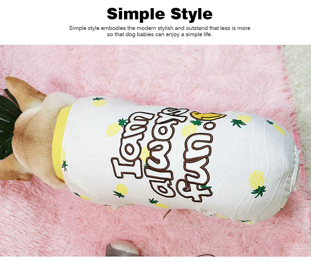 Four-legged Clothes for Small Size Dogs, Casual Dog Clothes Newly-designed for Autumn Winter 2019 Pet Clothes 3