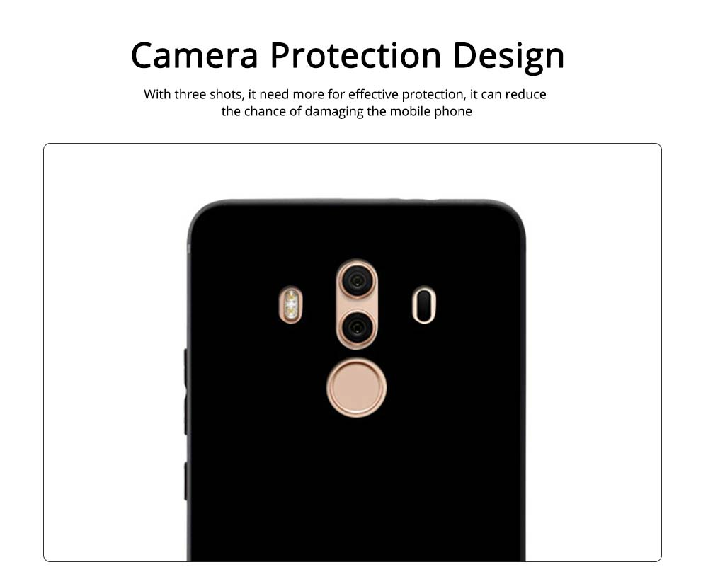 Cute Cat Phone Case, Protective Soft Silicone Cat Case Cover for HUAWEI Mate 10, Mate 20 2