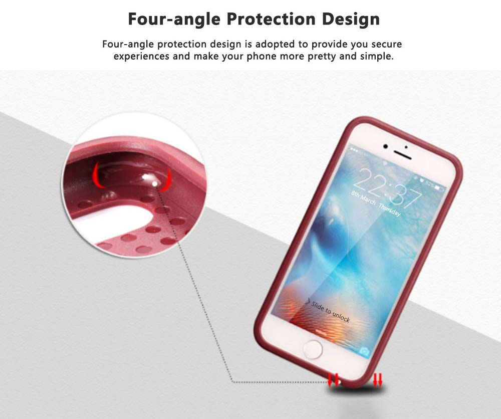 Tricolor Anti-breaking Phone Case, Luxury Soft TPU Phone Cover Case for iPhone, Samsung Case Cover with Creative Humanized Design 9