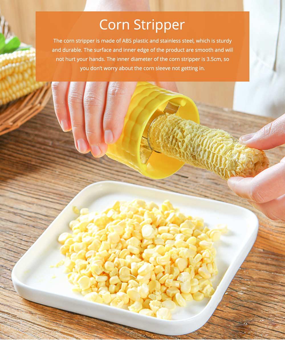 Stainless Steel Stripping Corn Tool Manual Quack Corn Planer Saving Effort Corn Peeler Cutter 0