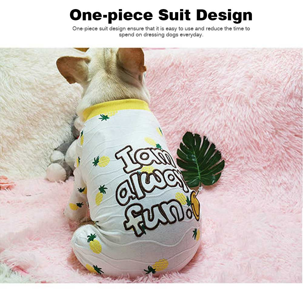 Four-legged Clothes for Small Size Dogs, Casual Dog Clothes Newly-designed for Autumn Winter 2019 Pet Clothes 5