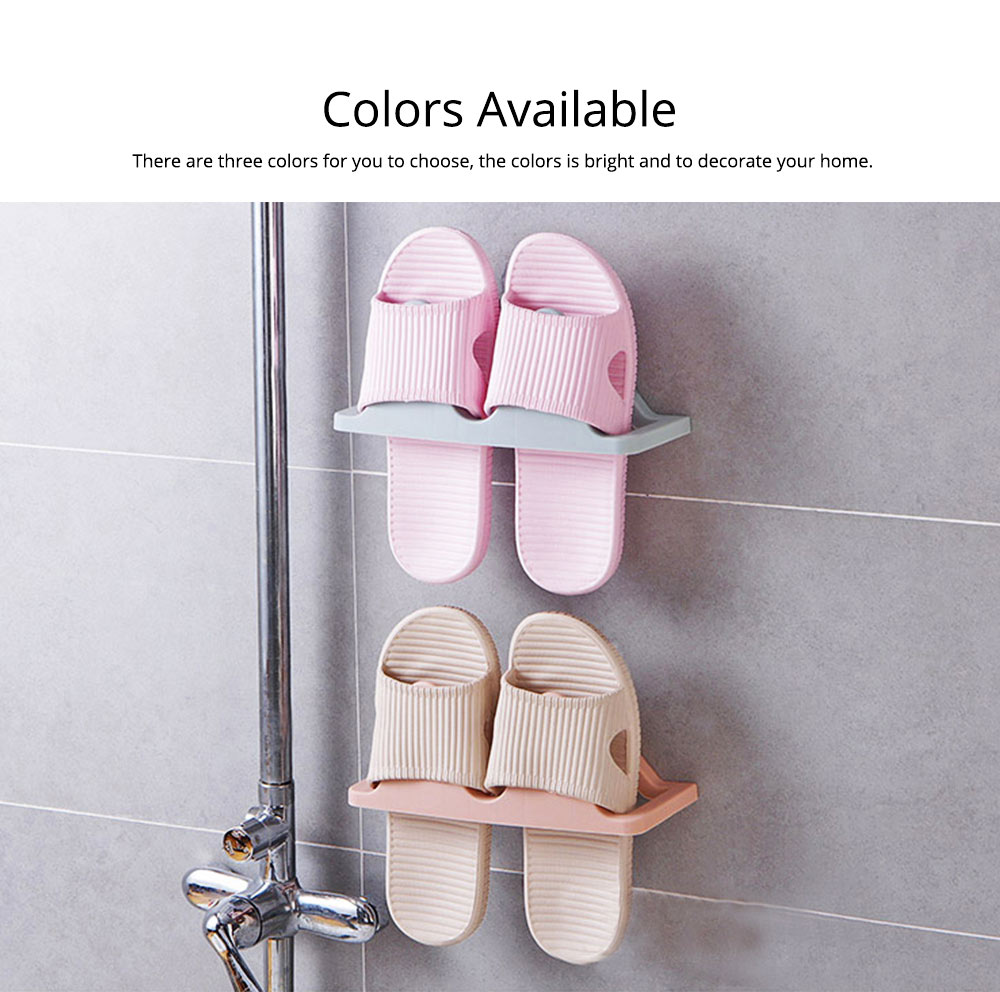 Shoes Rack Plastic Hanger Wall-mounted for Household Creative Shoes Holder 7