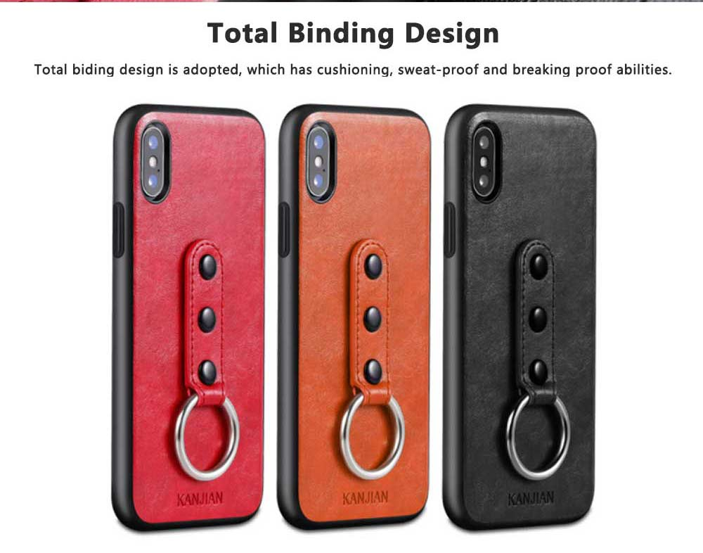 Luxury Soft PU Leather Phone Case for iPhone X/XS/XR 5