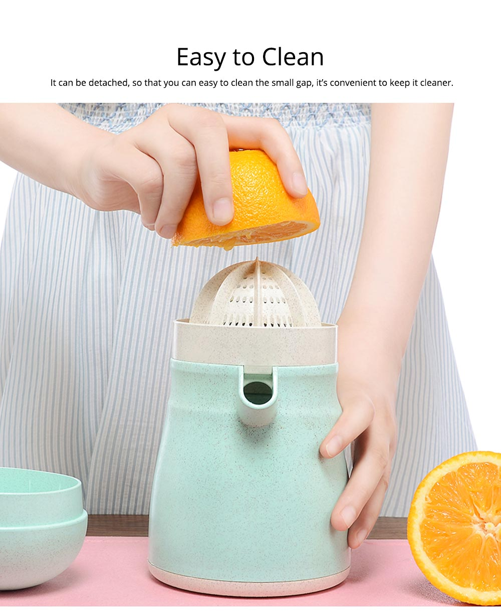 Manual Juicier Detachable Squeezer Press Fruit for Home-usage Hand-operate Juice Machine 5
