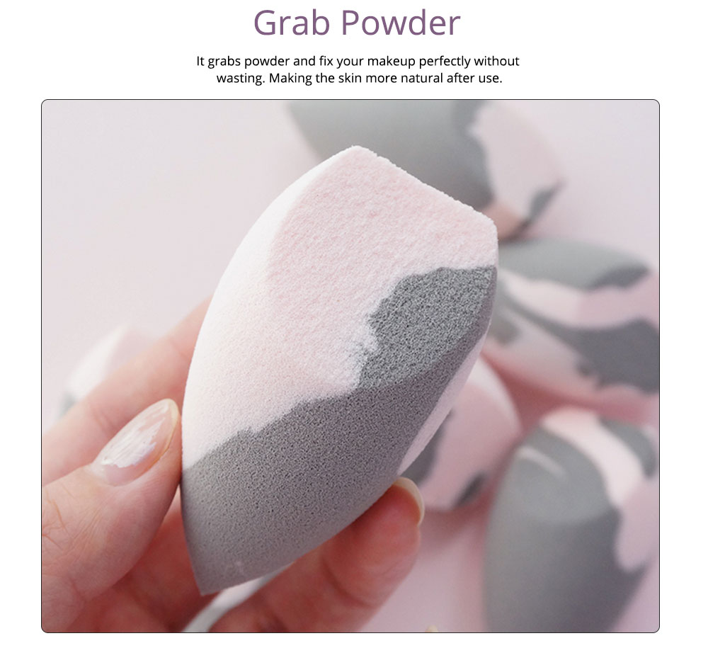 Foundation Blender Women Beauty Makeup egg Sponge Drying and Wet Power Puff with Small Pig Shape 1