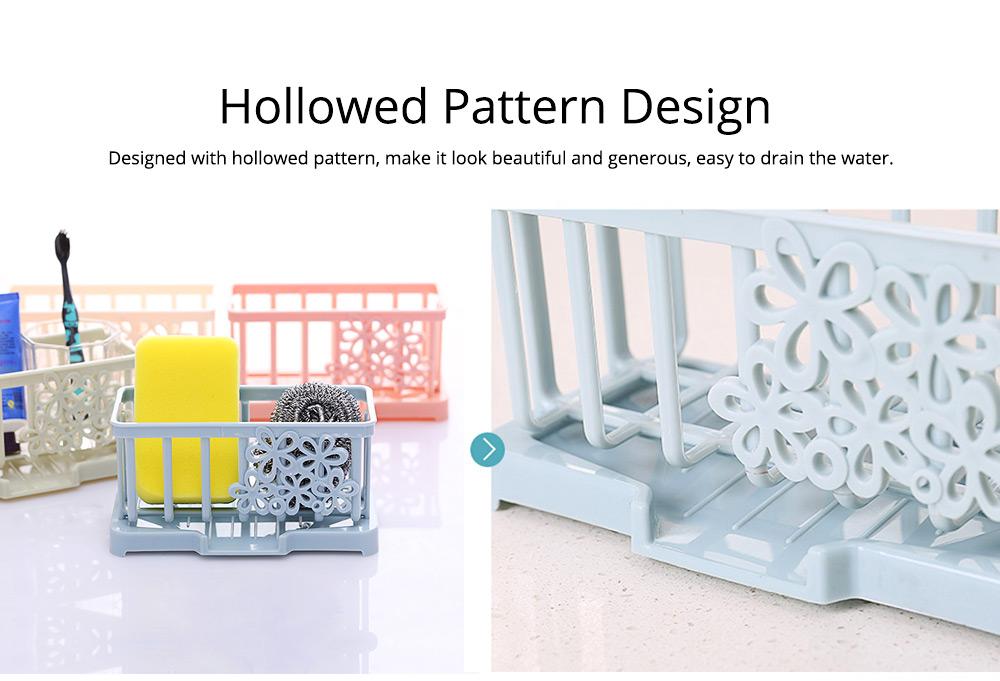 Storage Holder Durable Organizer Shelf for Kitchen Household Plastic Detachable Drying Rack 7