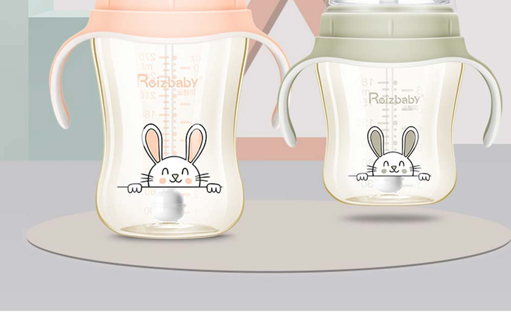 Superior PPSU Plastic Baby Feeding Bottle, Milk Feeding Bottle With Handle, Nursing Feeding Bottles with Wide Extension 8