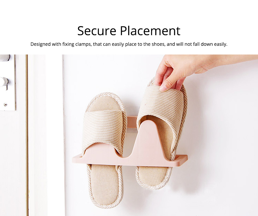 Shoes Rack Plastic Hanger Wall-mounted for Household Creative Shoes Holder 3