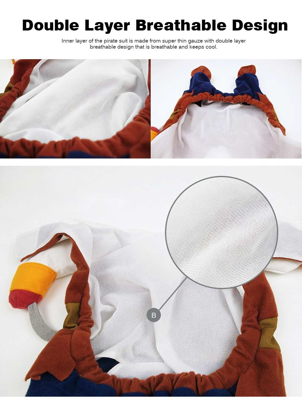 Pirate Costume for Dogs, Halloween Days Dog Clothes Pet Costumes  7
