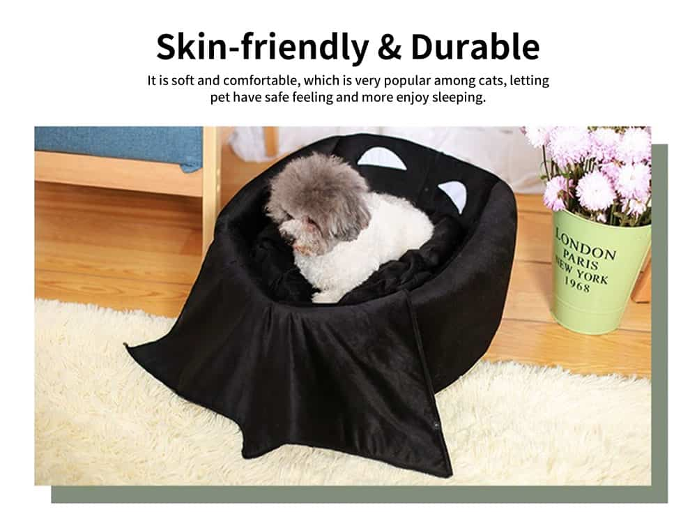 Classic Batman Modelling Cat Nest, with Removable and Washable Cushion, Selected PP Cotton Cat House 3