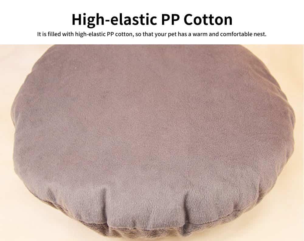 High-elastic PP Cotton Cat Nest, Cute Sheep Shape Pet House, with Dot Grain Design to Have Antiskid Effect 2