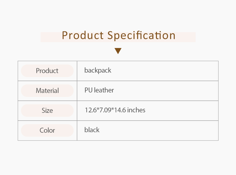 Pu Leather Vertical Square Shoulder Bag, Retro Style Women's Large Capacity Multi-functional Backpack 6