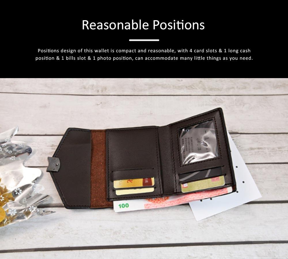 Chic Short Purse Folio Mini Handbag Sequins Colorful 3 Slots PU Leather Rainbow Clutch Bag Evening Party Accessories 4