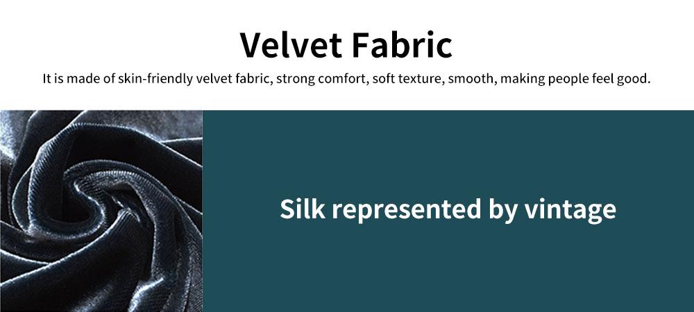Men's Long-sleeved Pajamas Suit, Velvet Fabric Sleepwear for Men Two-piece Winter, Autumn 2019 1