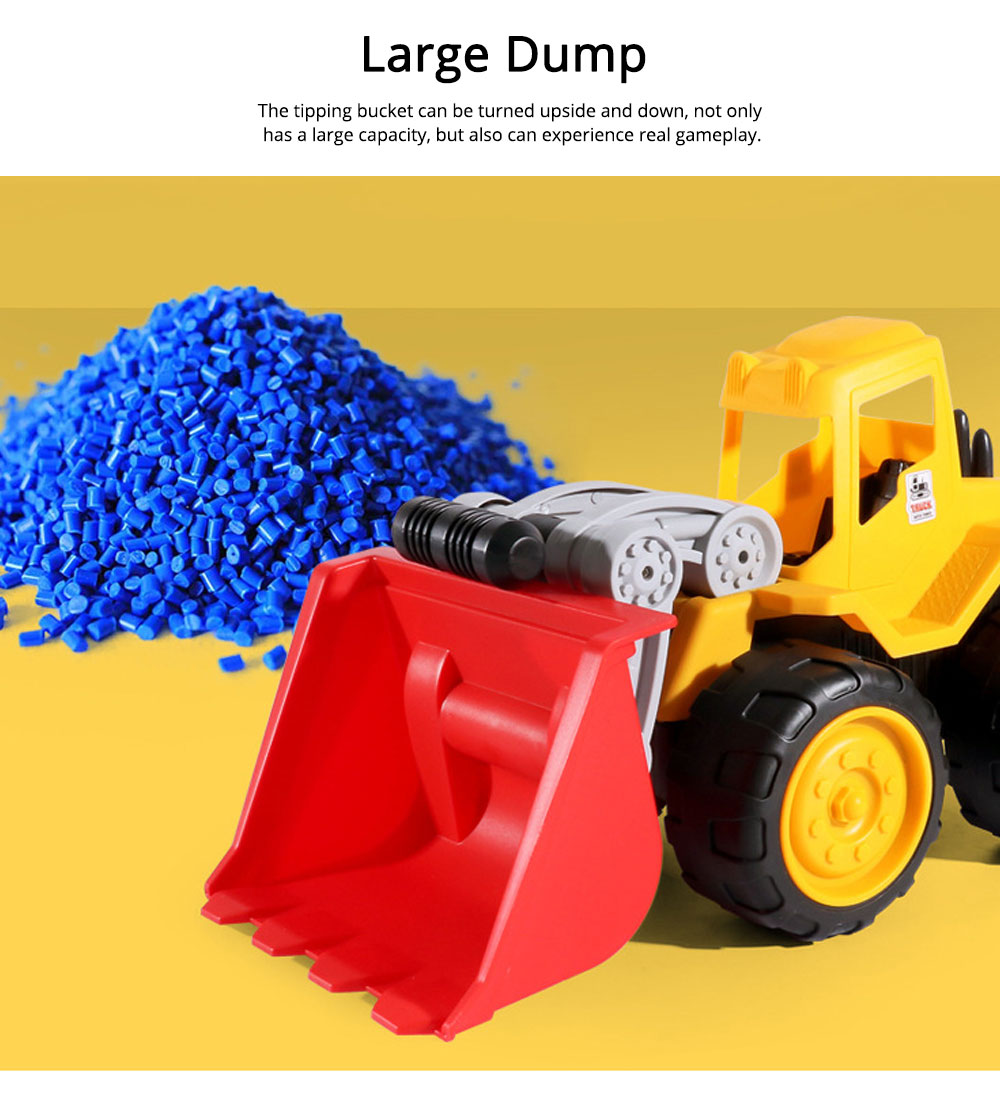 Children Toy Car Simulation Engineering Truck, Construction Vehicle Toy Car, Children's Toy Bulldozer 4