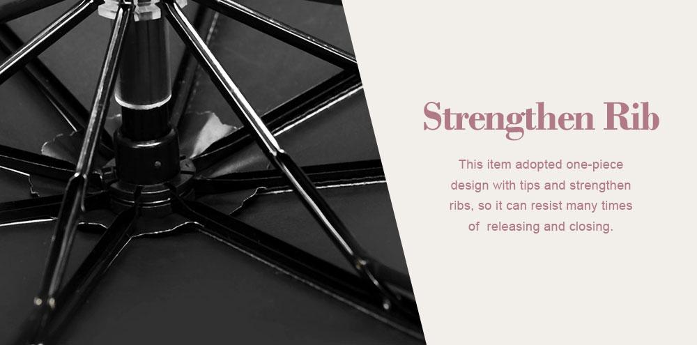 UV-proof Cartoon Umbrella for Both Sun and Rain, Creative 3 Folding Umbrella Allows for Customization 3