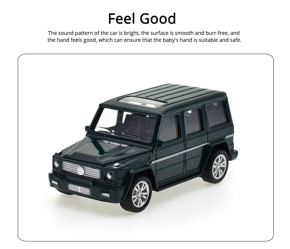 Simulation Alloy Model Car, Mercedes-Benz Off-road Vehicle Model, Children Pull-back Car Toy Model Car 3