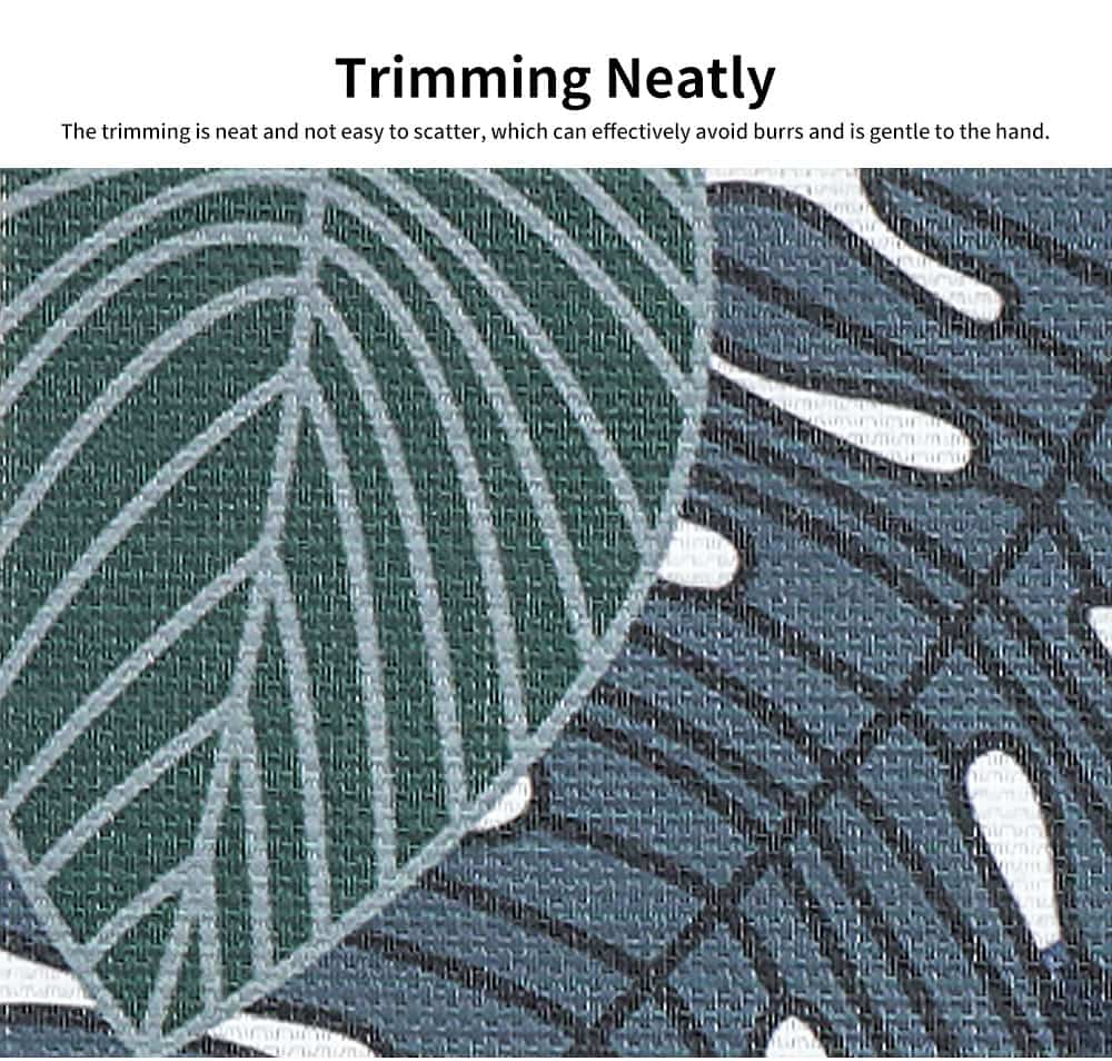 Tropical Plants Creative Bowl Dish Placemat Heat Insulation Waterproof Anti-scald Table Mat 5