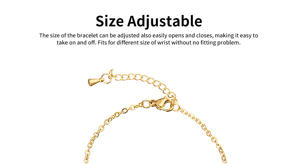Women Bracelet Personalized Pineapple Pendant Plated Stainless Steel Bangle Fashion Jewelry Accessories Personality Thin Bracelets 3