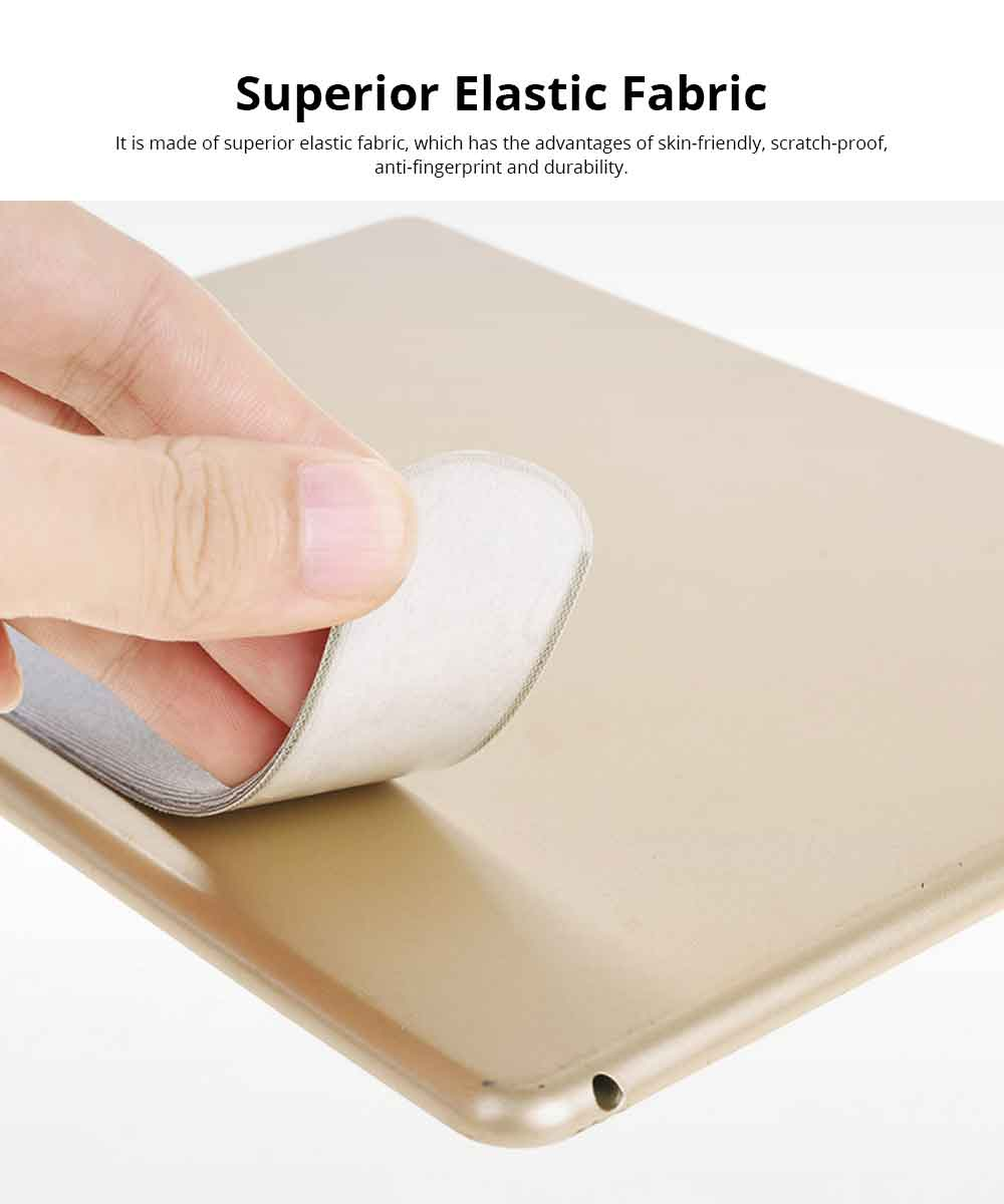 Elastic Fabric Apple Pencil Protective Sleeve with 3M Glue, Minimalist Soft Case Cover Cover Sleeve Pouch Holder 1