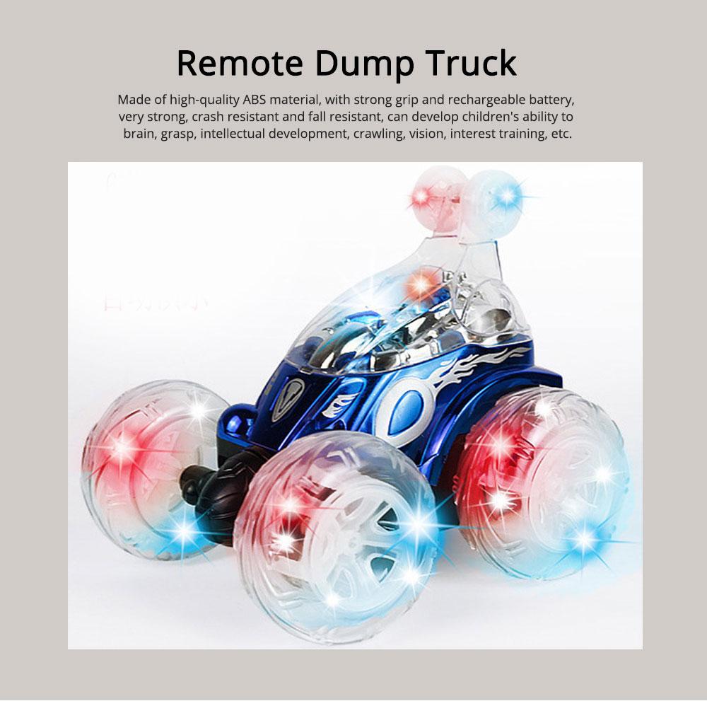Remote Dump Truck Light Music Children's Toy Car Remote Control Car 0