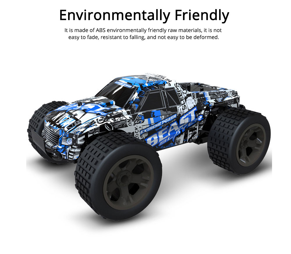 Wireless Remote Control Car, Electric Child Simulation Climbing Remote Control Car, Charging Wireless Toy Car 2