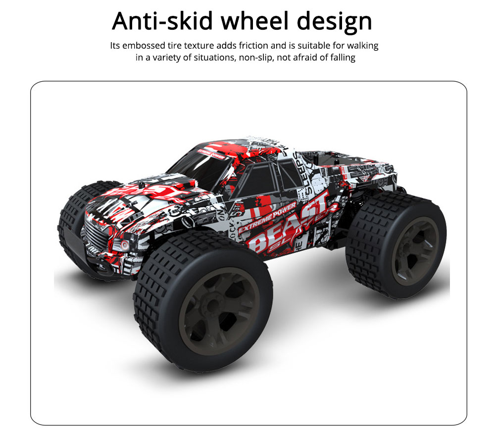 Wireless Remote Control Car, Electric Child Simulation Climbing Remote Control Car, Charging Wireless Toy Car 3