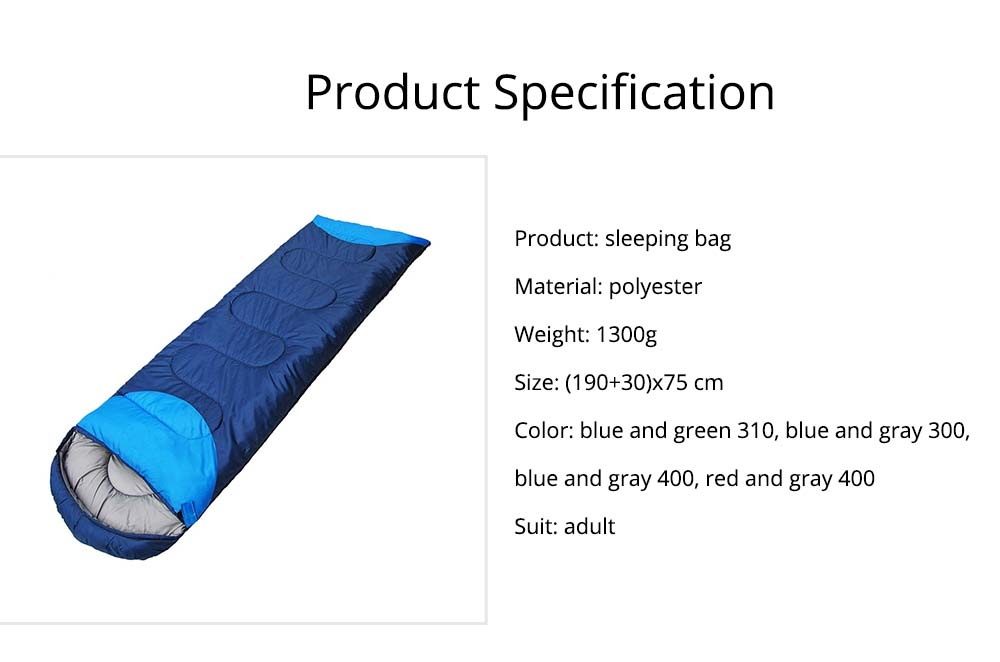Polar Envelope Sleeping Bag for Outdoor Camping Hiking, Ultra Warm Double Sleeping Bag 6