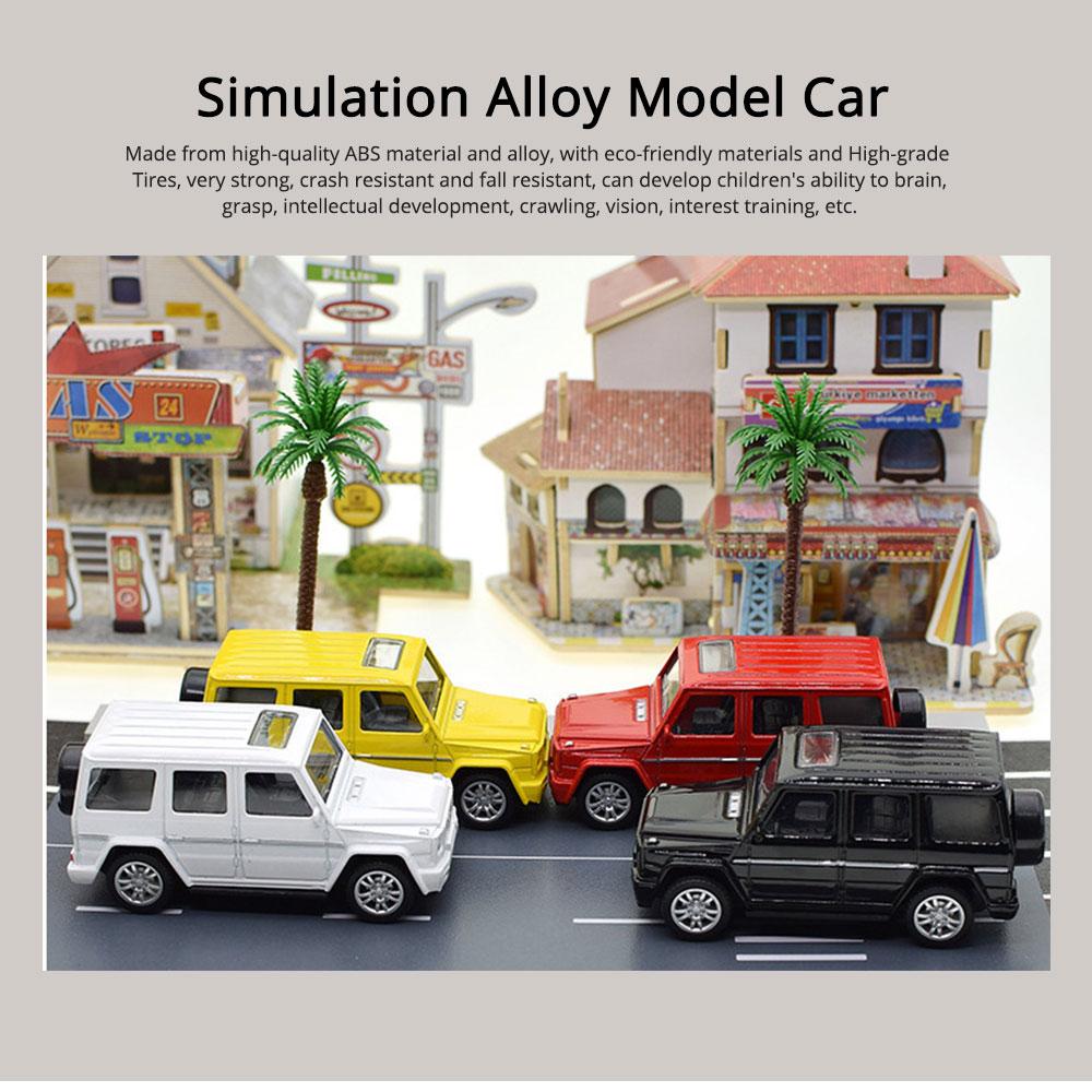 Simulation Alloy Model Car, Mercedes-Benz Off-road Vehicle Model, Children Pull-back Car Toy Model Car 0
