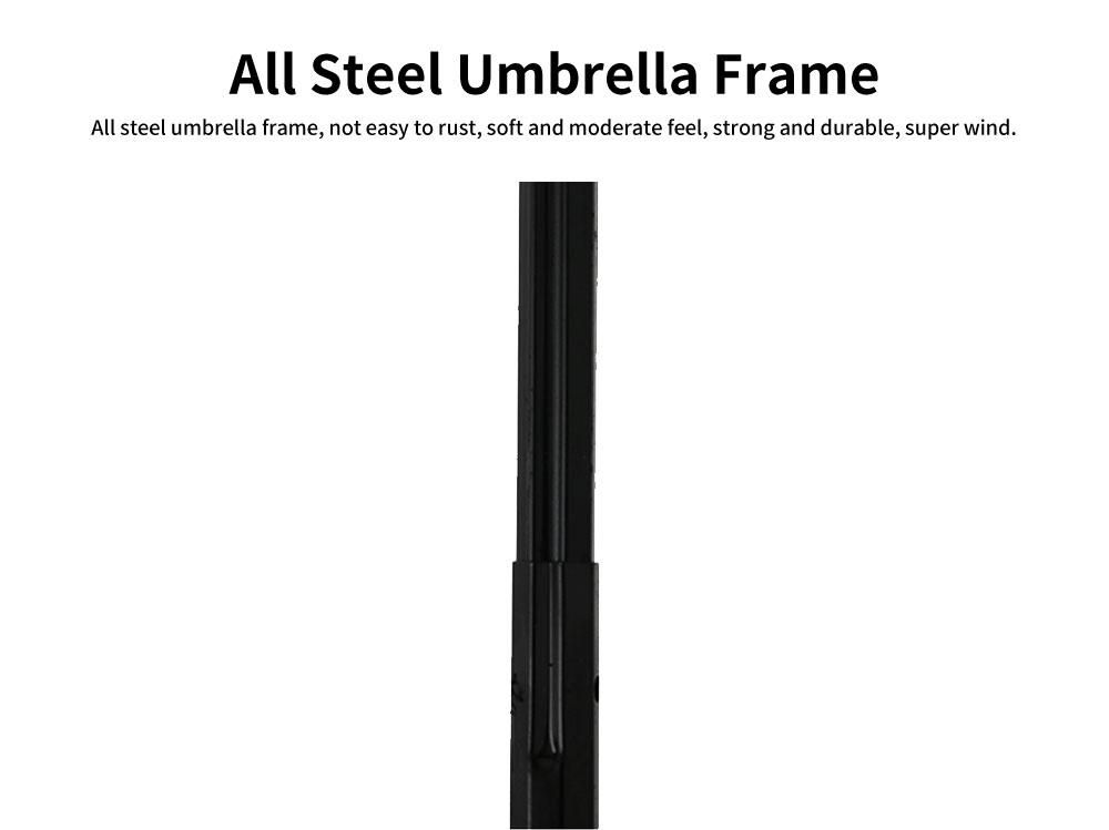 Creative Water Color Changing Umbrella, Vinyl Three-Fold Sunshade Sun Umbrella, Anti-UV Sun Umbrella 4