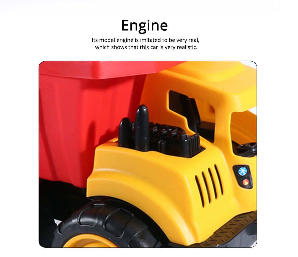 Children Toy Car Simulation Engineering Truck, Construction Vehicle Toy Car, Children's Toy Bulldozer 3