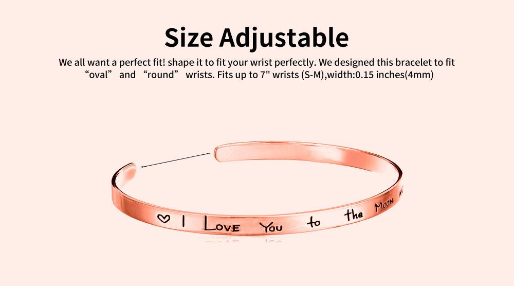 Elegant Lover Bracelets Valentines Gift For Girlfriend, Lady Heat Shape Crystal Mesh Plated Stainless Steel Women Bracelet 3