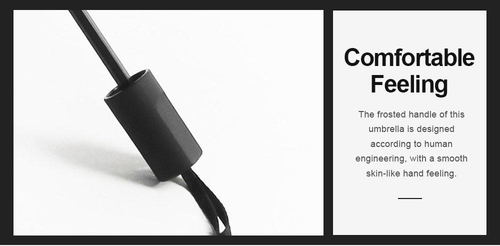 New Style Three Folding Umbrella Fashionable Black and White Stripe Vinyl Sun Protection Umbrella UV Proof 2019 1