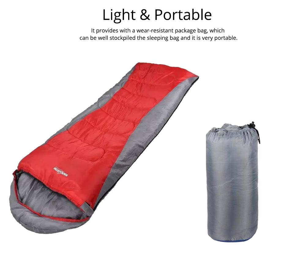 Polar Envelope Sleeping Bag for Outdoor Camping Hiking, Ultra Warm Double Sleeping Bag 5