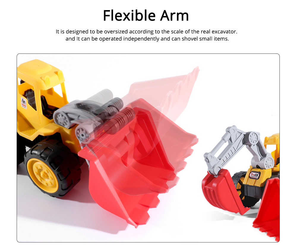 Children Toy Car Simulation Engineering Truck, Construction Vehicle Toy Car, Children's Toy Bulldozer 1