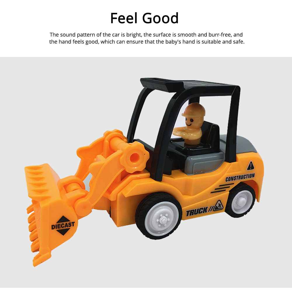 Construction Vehicle Toy Car, Mini Toy Excavator, Simulation Engineering Truck, Children's Toy Bulldozer 4