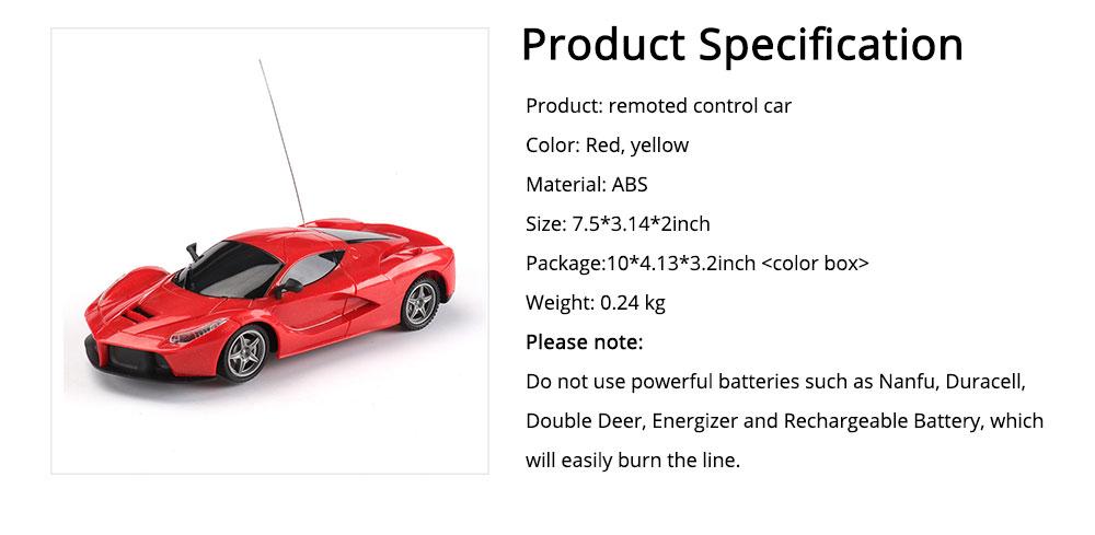 Children's High-speed Remote Control Car, Electric RC Car Toy Car 6