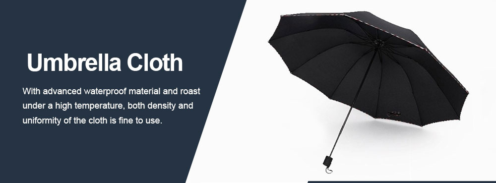 High Quality Umbrella Triple Folding Umbrella Allow for Customization for Home Use, Gifts or Advertisement Both Sun and Rain 2