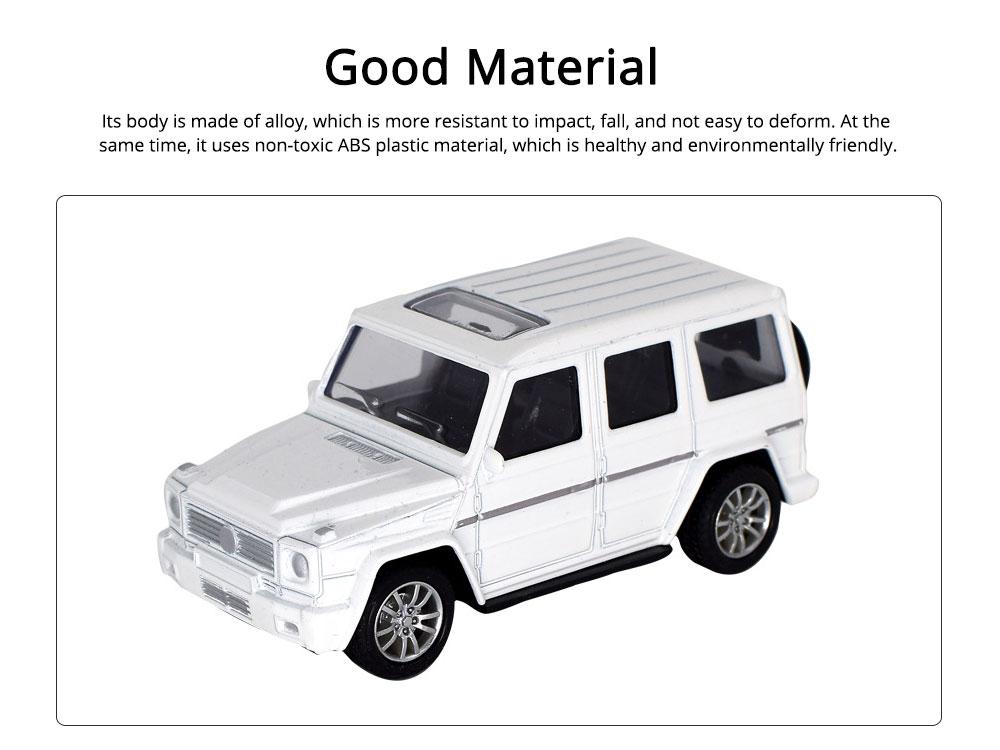 Simulation Alloy Model Car, Mercedes-Benz Off-road Vehicle Model, Children Pull-back Car Toy Model Car 1